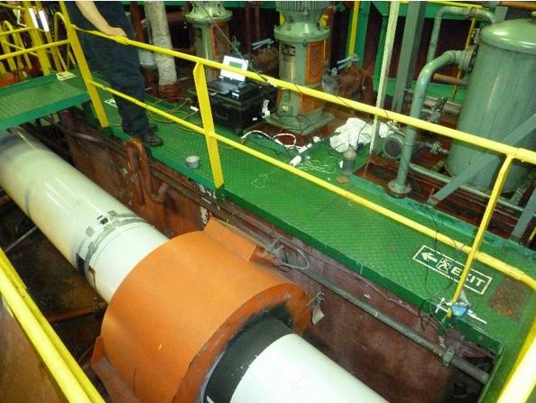 marine propeller shaft torque