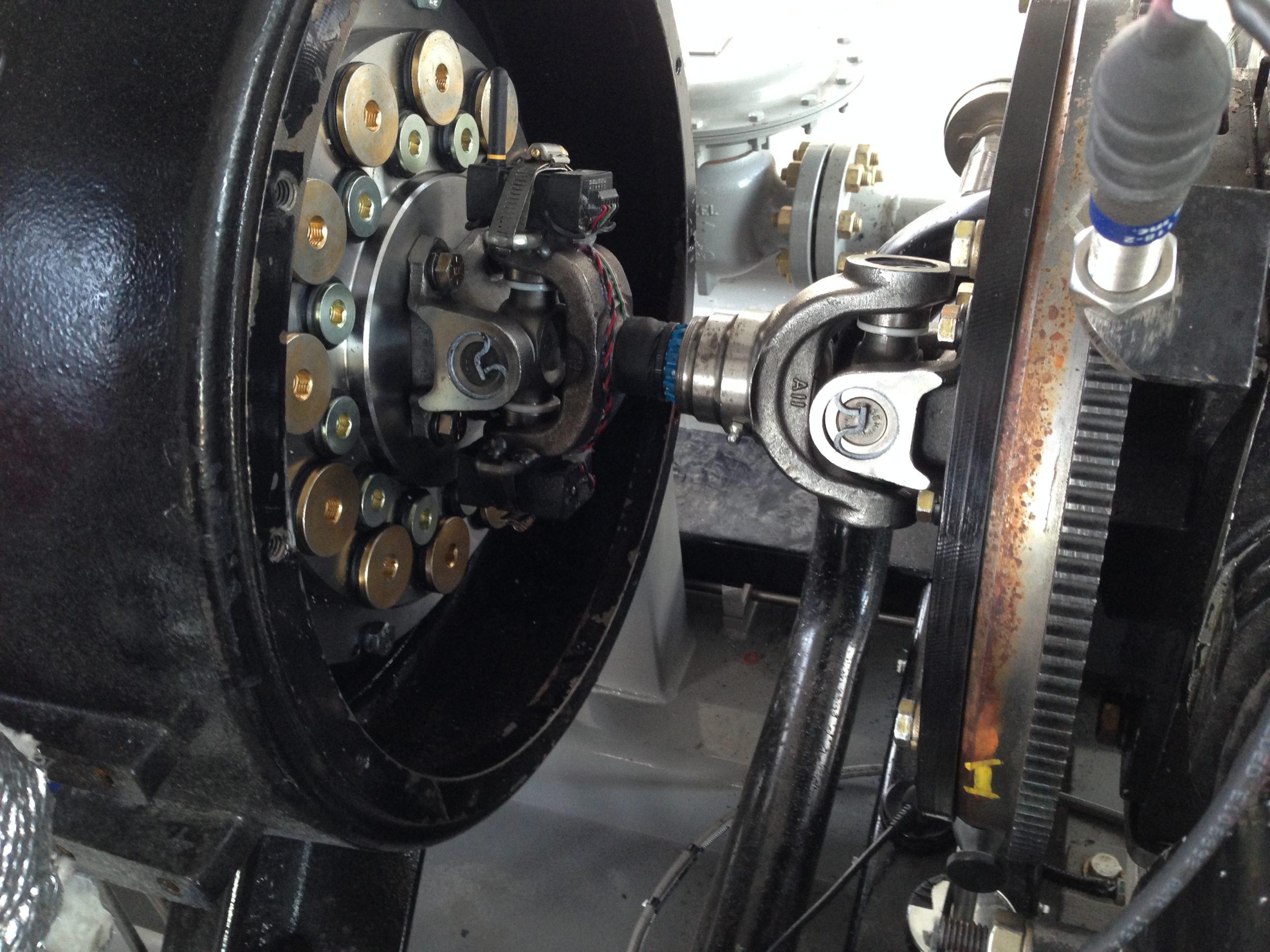 Reciprocating Compressor Drive Shaft Coupling
